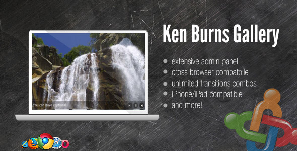 DZS Ken Burns Gallery w Admin Panel - For Joomla