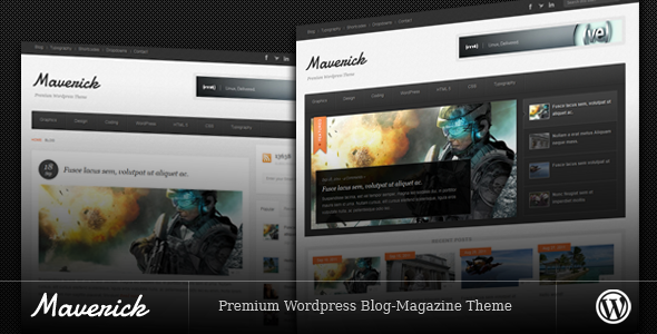 Maverick Premium Blog WordPress Theme