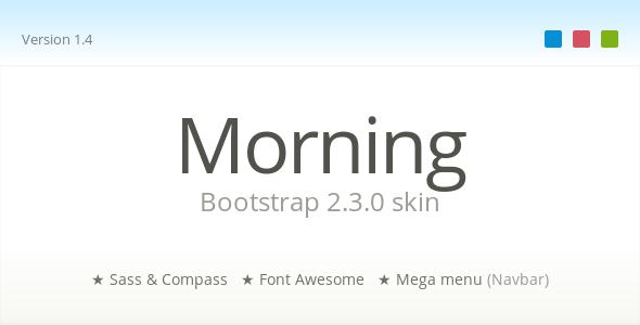 Morning - Bootstrap Skin