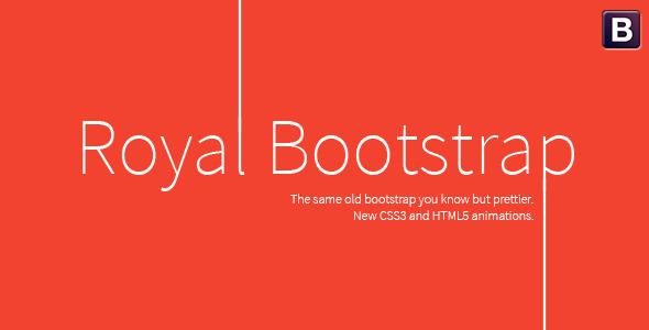 Royal Bootstrap Skin