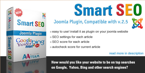 Smart SEO - Joomla Plugin