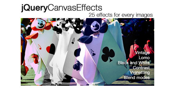 jQuery Canvas Effects Plugin