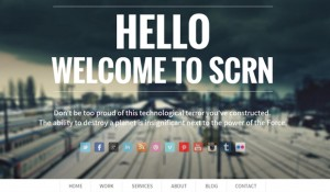 25 brilliant single page WordPress themes