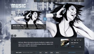 25 creative WordPress themes suitable for music bands websites