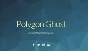 20 fresh, simple and good looking Ghost themes