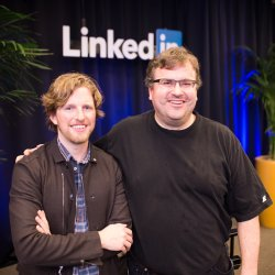 WordPress Co-Founder Chats it Up with LinkedIn's Co-Founder