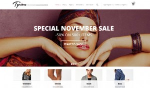 20 fresh WordPress themes suitable for e-commerce projects
