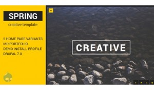 20 modern visually appealing Drupal themes
